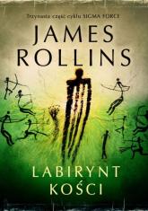 Labirynt kości - James Rollins | mała okładka