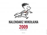 Kalendarz Mikołajka 2009 - René Goscinny, Jean-Jacques Sempé  | mała okładka