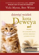 Dziewięć wcieleń kota Deweya - Vicki Myron, Bret Witter  | mała okładka