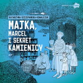 Majka, Marcel i sekret kamienicy - Katarzyna Szczepańska-Kowalczuk    mała okładka