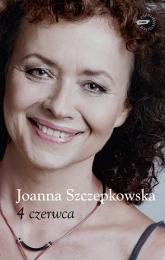4 czerwca - Joanna Szczepkowska  | mała okładka