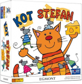 Kot Stefan - gra planszowa  - Susanne Kummer | mała okładka