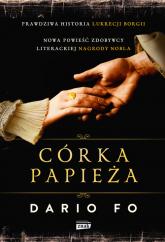 Córka papieża - Dario Fo | mała okładka