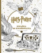 Harry Potter. Książka do kolorowania - Opracowanie Zbiorowe | mała okładka