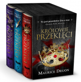 Królowie przeklęci, pakiet t. 1-3 - Maurice Druon | mała okładka