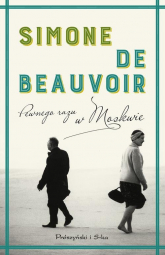 Pewnego razu w Moskwie - Simone Beauvoir | mała okładka
