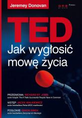 TED. Jak wygłosić mowę życia - Jeremey Donovan | mała okładka