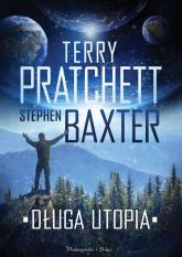 Długa utopia - Stephen Baxter, Terry Pratchett  | mała okładka