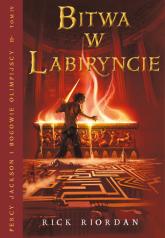 Bitwa w Labiryncie. Tom 4 - Rick Riordan | mała okładka