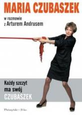 Każdy szczyt ma swój Czubaszek - Artur Andrus, Maria Czubaszek | mała okładka