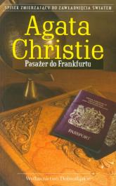 Pasażer do Frankfurtu - Agatha Christie | mała okładka