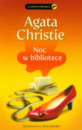 Noc w bibliotece - Agatha Christie | mała okładka