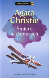 Śmierć w chmurach - Agatha Christie | mała okładka