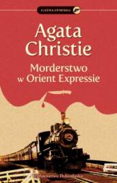 Morderstwo w Orient Expressie - Agata Christie | mała okładka