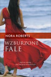 Wzburzone fale - Nora Roberts | mała okładka