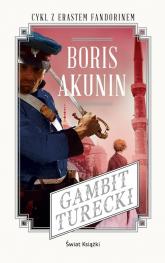 Gambit turecki - Boris Akunin | mała okładka