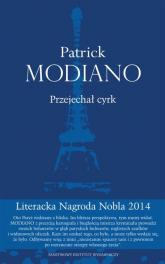 Przejechał cyrk - Patrick Modiano | mała okładka