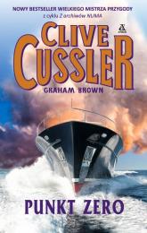 Punkt Zero - Clive Cussler, Graham Brown | mała okładka