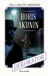 Dekorator - Boris Akunin | mała okładka