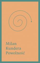 Powolność - Milan Kundera | mała okładka