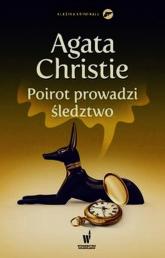 Poirot prowadzi śledztwo - Agatha Christie | mała okładka