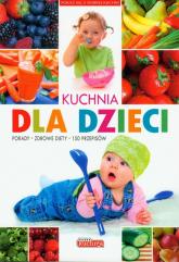 Kuchnia dla dzieci - Iwona Czarkowska | mała okładka