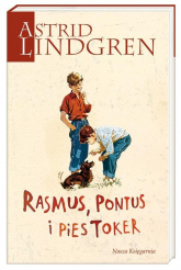 Rasmus Pontus i pies Toker - Astrid Lindgren | mała okładka