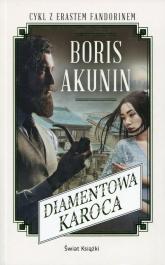 Diamentowa karoca - Boris Akunin | mała okładka