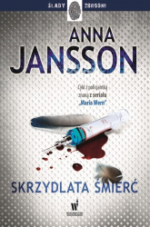 Skrzydlata śmierć - Anna Jansson | mała okładka