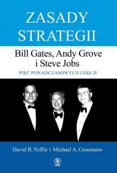 Zasady strategii. Pięć ponadczasowych lekcji - David Yoffie, Michael Cusumano | mała okładka
