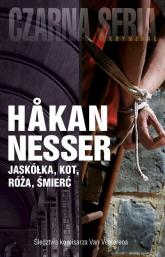 Jaskółka, kot, róża, śmierć - Hakan Nesser | mała okładka
