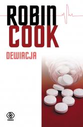 Dewiacja - Robin Cook | mała okładka