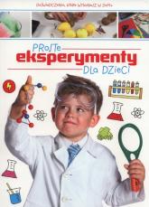 Proste eksperymenty dla dzieci -  | mała okładka