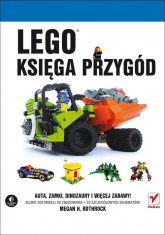 Lego Księga przygód - Megan H. Rothrock   mała okładka