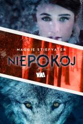 Niepokój - Maggie Stiefvater | mała okładka