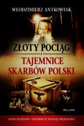Złoty pociąg. Tajemnice skarbów Polski - Włodzimierz Antkowiak | mała okładka