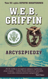 Arcyszpiedzy - Griffin W.E.B., Butterworth William E. | mała okładka