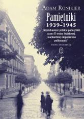 Pamiętniki 1939-1945 - Adam Ronikier | mała okładka