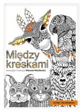 Między kreskami - Marzena Mackiewicz | mała okładka