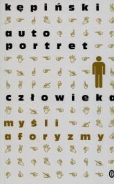 Autoportret człowieka - Antoni Kępiński | mała okładka