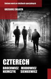 Czterech - Grzegorz Chlasta | mała okładka