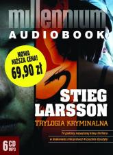 Pakiet - Millennium. Trylogia kryminalna mp3 - Stieg Larsson | mała okładka