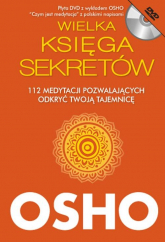 Wielka Księga Sekretów z płytą DVD. 112 medytacji pozwalających odkryć Twoją tajemnicę - Osho | mała okładka