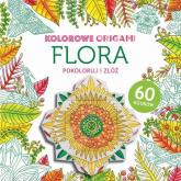Kolorowe origami. Flora -  | mała okładka