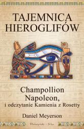 Tajemnica hieroglifów. Champollion, Napoleon i odczytanie Kamienia z Rosetty - Daniel Meyerson | mała okładka