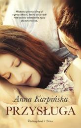 Przysługa - Anna Karpińska | mała okładka