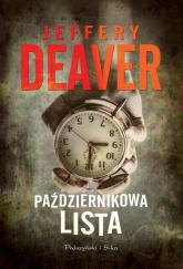 Październikowa lista - Jeffery Deaver | mała okładka