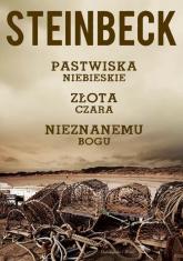 Pastwiska Niebieskie, Złota Czara, Nieznanemu bogu - John Steinbeck | mała okładka