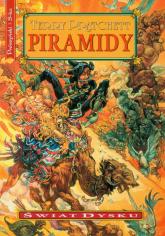 Piramidy - Terry Pratchett | mała okładka