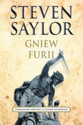 Gniew Furii. Kryminalne powieści z czasów rzymskich - Steven Saylor | mała okładka